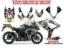 AMR RACING DEKOR GRAPHIC KIT SUZUKI GSX-R 600/750/1000/1300 IRON MAIDEN - NOTB B