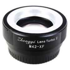 Zhongyi Lens Turbo II Focal Reducer Adapter M42 to Fujifilm FX X Pro2 XT2 XT1