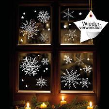 décor de fenêtre filigrane Flocons neige en Jeu 12336 réutilisables 24