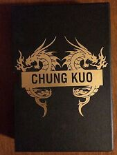 DAVID WINGROVE. SON OF HEAVEN. SIGNED LIMITED EDITION CHUNG KUO  #202/250