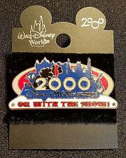 RETIRED 2000 WALT DISNEY WORLD DISNEY MGM STUDIOS ON WITH THE SHOW PIN