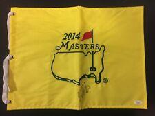 Bubba Watson Autographed 2014 Masters Flag Pin, JSA Certified