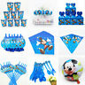 Mickey Mouse Birthday Party Supplies Filler Bags Tableware Plates Cups Balloons