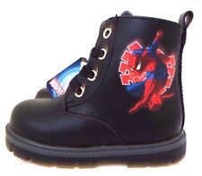 Marvel Comics Ultimate Spider-Man Boy's Toddler Baby Character Boots Size 5.5