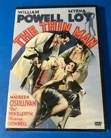 The Thin Man (DVD, 2005) William Powell Myrna Loy 1934 Film NEW Sealed
