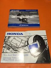 ORIGINAL 2009 HONDA CBR600RR/A CBR 600 MOTORCYCLE OWNERS OPERATORS MANUAL + MORE