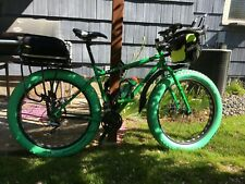 Fluo Green Vee Fat Bike Mission Command Tubeless Tire 26 x 4.0! 120TPI