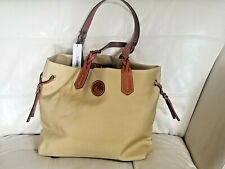 Nwt new Dooney & Bourke Bag Bailey yellow gold Tote Extra Large 12x18!