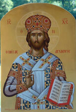 Jesus Christ The Great Archbishop -MADE TO ORDER Eastern Orthodox Byzantine icon