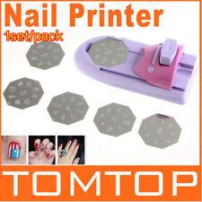 Nail Art DIY Motif Impression Manucure Machine Dessin Polonais Nail Printer Set