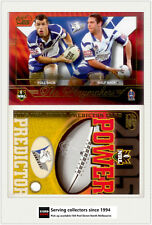 2005 Select NRL Power Cards Team of The Year Ty10 Steve -bulldogs