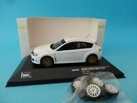 SUBARU IMPREZA WRX STi Gr.N - RALLY SPECS - TEST CAR WHITE  1/43 NEW IXO MDCS007