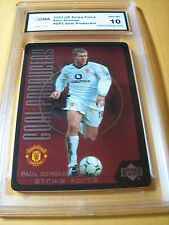 PAUL SCHOLES MANCHESTER 2003 UD STRIKE FORCE GOAL PRODUCERS # GP2 GRADED 10