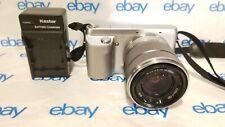 Sony NEX-F3  Digital Camera 16.1 MP With 18-55mm Lens Works Great!
