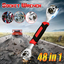 48-IN-1 Socket Universal Wrench Tiger Tools Metric 6-Point Work with Spline Bolt
