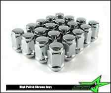 10 7/16 STAINLESS STEEL CAPPED BULGE ACORN LUG NUTS 4 TRAILER WHEELS 7/16-RH