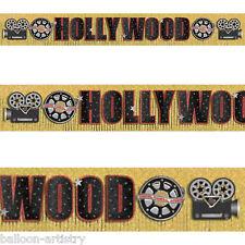 3m película de Hollywood Carrete de película Cámara Partido Brillo Con Flecos Bandera De Decoración