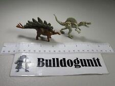 Jurassic World Lot Gold Spinosaurus Stegosaurus Dinosaur Figures Park Toy