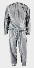 Unisex PVS Sweat Gym Sauna Suit Loss Weight Slim Exercise Heavy Duty Suit
