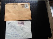 FRANCE - 2 enveloppes 1973 1981 (cy23) french