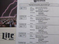 FARM AID 6 lps Lou Reed Neil Young Guns n Roses Iggy Pop CSN&Y Elton John