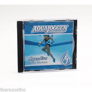 AquaJogger Water Workout AQUA JIVE CD Rehab Exercise Pool Therapy 30 Minute AP18