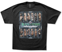 WWE Wrestling Elimination Chamber 2012 Black T Shirt New Official Adult 2XL