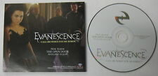 EVANESCENCE Call Me When Ypu're Sober 2006 PROMO CD Single Goth AMY LEE Nu Metal