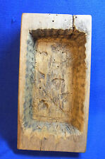 Antique German Wood Carved BUTTER MOLD #X2
