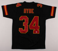 Carlos Hyde Signed Kansas City Chiefs Football Jersey ~ JSA Authentic Autograph~
