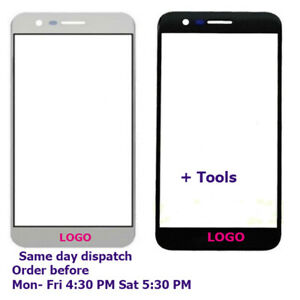 LCD Front Outer Glass Touch Screen Lens Repair For LG K10 2017
