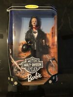 1998 COLLECTOR EDITION HARLEY DAVIDSON BARBIE DOLL NRFB MATTEL