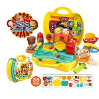 Küche Kochen Spielzeug Kids Role Pretend Play DIY Toys Children Gift Neu