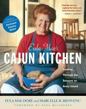 Eula Mae's Cajun Kitchen: Cooking Through the Seasons on Avery Island-ExLibrary