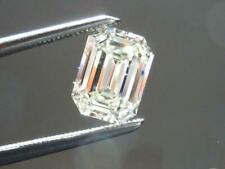 0,28 Cts F Couleur VS2 Clarté Emeraude Couper GIA Certifié Naturel Lâche Diamant