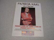 PATRICIA KAAS BON DE RESERVATION CONCERT BELGE 98 (12)