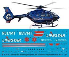Peddinghaus 1/32 EC135 P2+ Helicopter Markings N517MT Lifestar NW Texas HC 2407