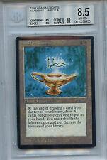 MTG Arabian Nights Aladdins Lamp BGS 8.5  NM-Mt+ quad Magic WOTC Card 9950