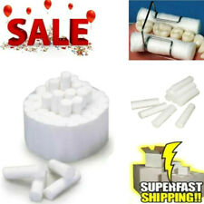10pcspack Dental Disposable Surgical Cotton Rolls High Absorbent White Usa