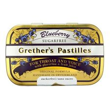 Grethers Pastilles Blueberry Sugarfree 3.75 oz.