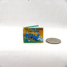 THE LITTLE ENGINE THAT COULD Illustrated Readable Miniature Book 1:12 Scale