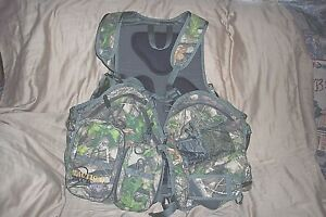 Camo Turkey Vest Camo Hunting Vest Game Bag Padded Seat Hiking Camo Backpack