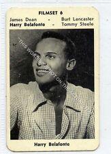 (Ga5618-100) RARE Monty Gum, Film Set #6, Harry Belafonte, 1950's, G-VG