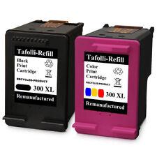 2 Patronen für HP 300 XL Black & Color F 4272 D 2566 F 4240 F 4213 F 4250