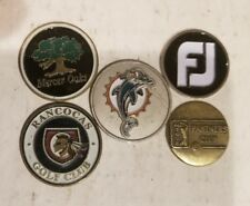 Miami Dolphins golf ball marker and 4 others footjoy, PGA tour...