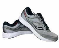 Saucony Mens Cohesion 12 Running Shoes Gray S20471-3 Low Top Sneakers 9 New
