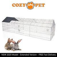Cozy Pet Rabbit Run Play Pen Guinea Pig Playpen Chicken Puppy Cage Hutch RR11