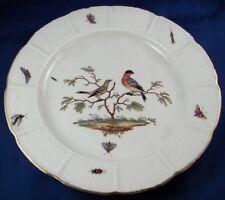 Antique 18thC Ludwigsburg Porcelain Bird Scene Plate Porzellan Teller Scenic