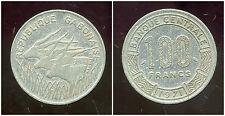 GABON 100 francs 1971  ( bis )