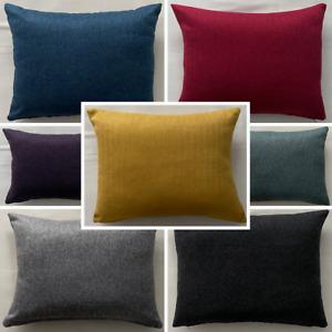 High Quality Handmade Rectangle Herringbone Tweed Cushion Cover Sofa Bed Zipper